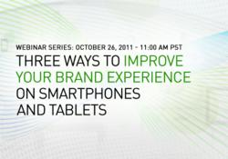 Three Ways to Improve Your Brand Experience on Smartphones and Tablets hosted by LEVEL, a Rosetta Company