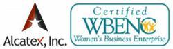 Alcatex and WBENC logos