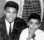 "Muhammad Ali and Drew ""Buddy Drew"" Brown"