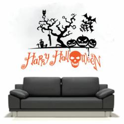 Holiday wall decals and vinyl wall art
