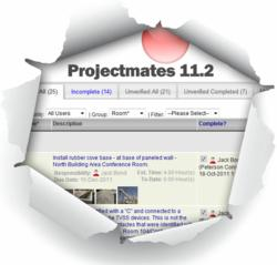 Projectmates construction management software version 11.2 released