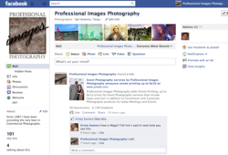 Facebook Page, Professional Images Photography