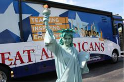 Lady Liberty's message inspires Super Citizens in schools nationwide