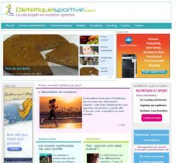 Dietetiquesportive.com expert en nutrition sportive