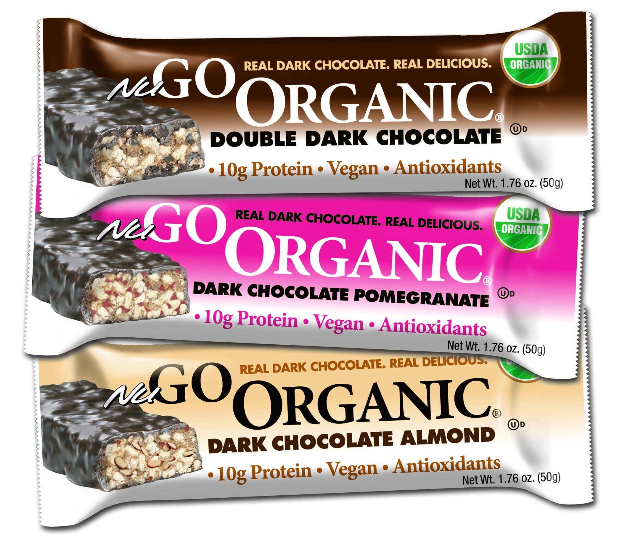 Organic high protein bars