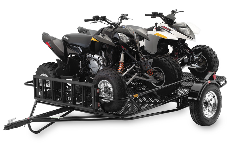 Kendon Welcomes Fall Season With Dirt Bike Trailer And Off Road