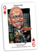 Herman Cain as Politicards' new 9 of Hearts