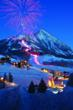 New Year's Eve Torchlight Parade & Fireworks. Photo by Dusty Demerson, courtesy of Crested Butte Mountain Resort.