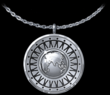 Silver Rhodium Oneness Charm