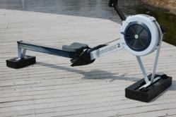 Shox-Box System with a C2 Model D rower