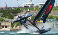 America's Cup Racing in San Diego