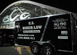 All Pro Orange County Chopper 9/11 Bike Trailer