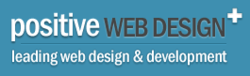 positive web design logo