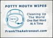 Frank The Astronaut Potty Mouth Wipes