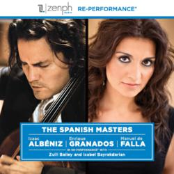 The Spanish Masters, re-performance, Zenph, Zuill Bailey, Isabel Bayrakdarian