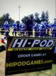 Pop Warner game and HI-PODGAMES SIGN