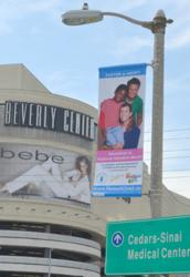 Local families are featured on banners displayed across L.A. in November, celebrating National Adoption Month.