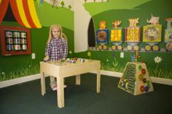 wooden toys, Anatex, showroom