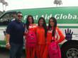 First Aid Global brings their emergency preparedness kits to the Long Beach Bike Festival
