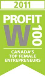 Lynn Cooke, CEO of 360 Visibility, ranks 76th on Profit Magazine's W100 list for 2011