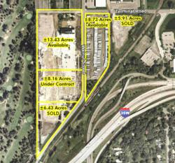 Available Highcrest Parcels-13.43 and 8.73 acres