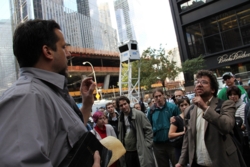Occupy Wall Street Protester Confronts Preacher