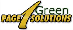 Page 1 Green Solutions Program - Green Solutions for Dentists, Doctors, Lawyers, and our Community