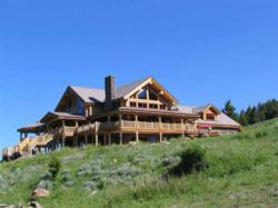 Handcrafted mountain home near Bozeman Montana