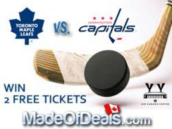 MadeOfDeals NHL Giveaway