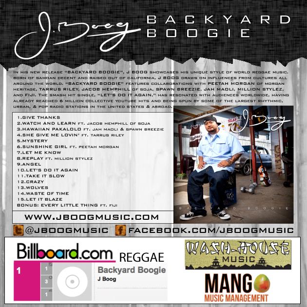 J Boog Backyard Boogie World Tour Kicks Off In Europe - Backyard boogie j boog on backyard boogie j boog does his thing
