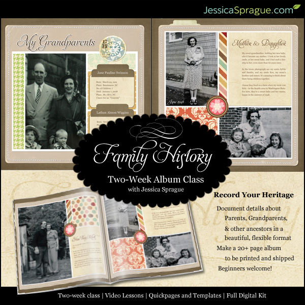paperclipping roundtable talks family history scrapbooking