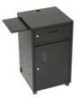 The Mobile Scan Station™ features a locking drawer and reinforced locking door for security of stored items