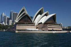 Professionals Real Estate Group held a breast cancer awareness event on a boat which passed by the famous Sydney Opera House in Australia.