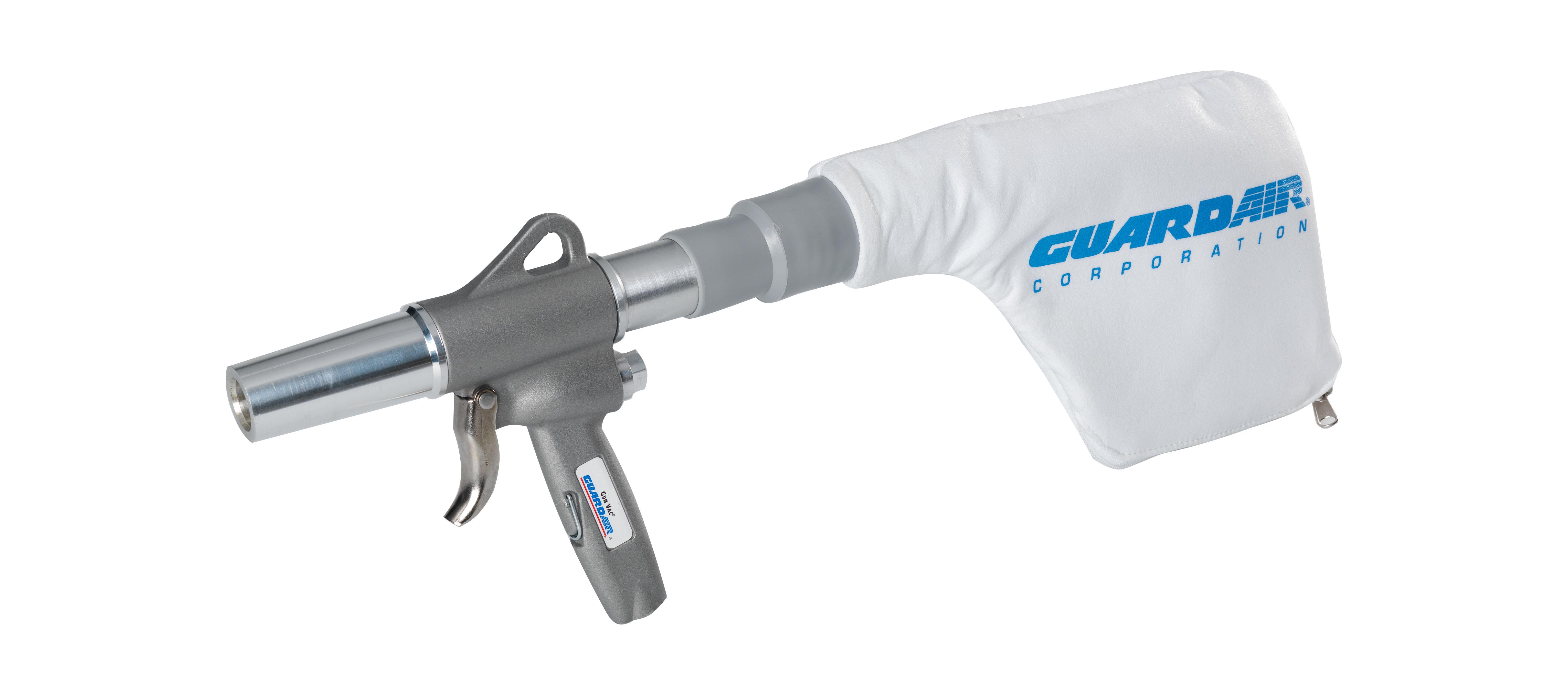 Air Powered Vacuum : Guardair corporation set to debut their gun vac