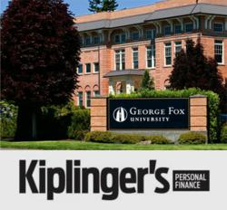 George Fox ranks among the top 100 private universities in the country in Kiplinger's.