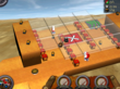 The windy desert is one of three settings in Mystery Ball. The game includes 30 unique levels.
