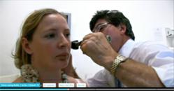 Inner ear investigation to check for balance disorders