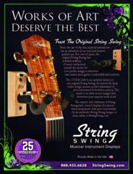 string swing, the original string swing, musical displays, instrument displays, guitar displays, guitar display