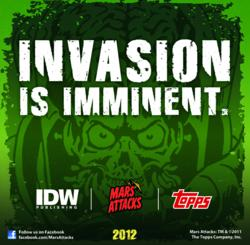 Mars Attacks will celebrate its 50th anniversary in 2012 with major product launches throughout the year.