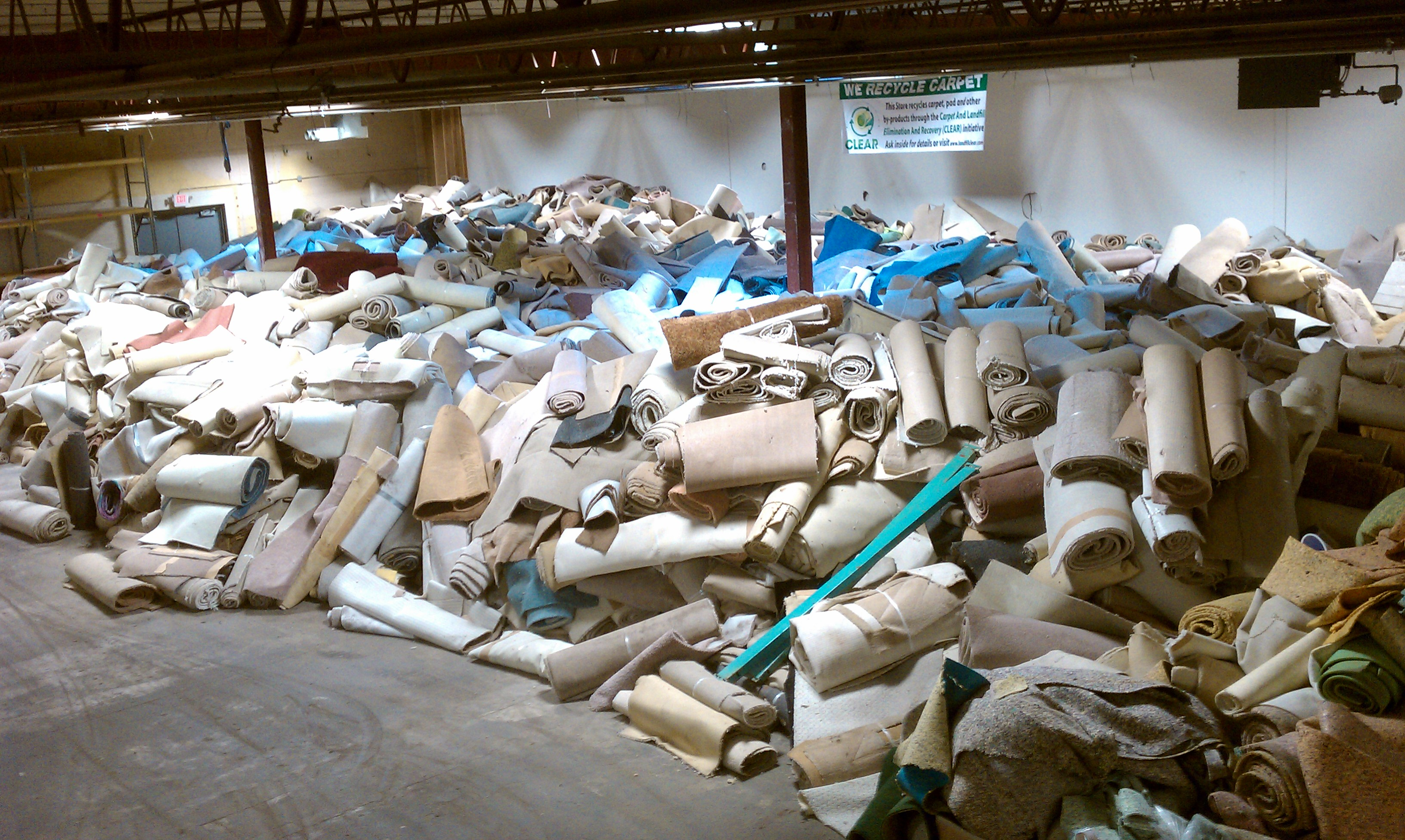 Surfaces Transport Expands Its Carpet Recycling Program