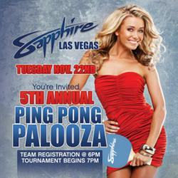 Sapphire LV - Ping Pong Palooza
