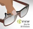 3D Glasses for Prescription Eyewear Users
