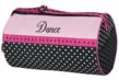 Dance duffel bag is perfect for ballet and other dance shoes and supplies.  Can be personalized.