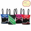 Cheer Uniform Tote bags are perfect for fundraisers, cheer camps, recognition gifts, etc.  Can be personalized.