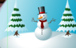 'Snowman' Christmas e card from Katie's Cards