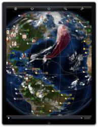 EarthBuzz on iPad