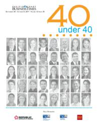 "Lorrie Thomas Ross Recognized as one of Pacific Coast Buiness Times ""40 under 40"""