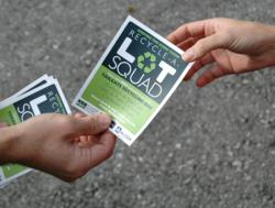 Philadelphia Eagles Tailgating Recycling Program Recycle-A-Lot Squad