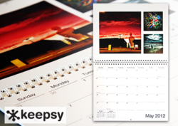 Instagram Calendar from Keepsy