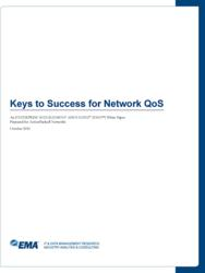 "EMA White paper ""Keys to success for Network QoS"